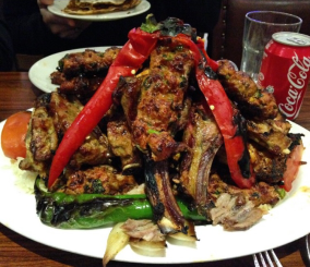 Mixed grill at Diyarbakir