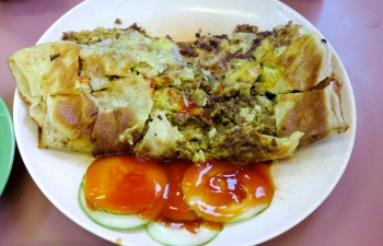Mutton Murtabak Credit: Evelovelle