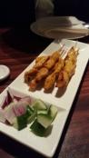 Satay Chicken on Skewer